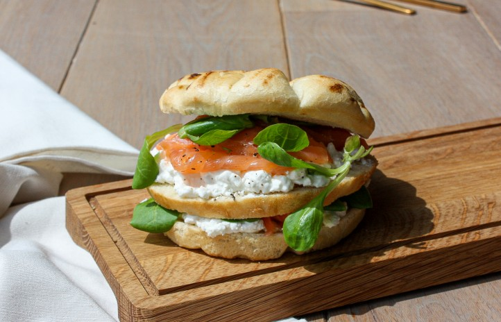 Clubsandwich focaccina van tol convenience food